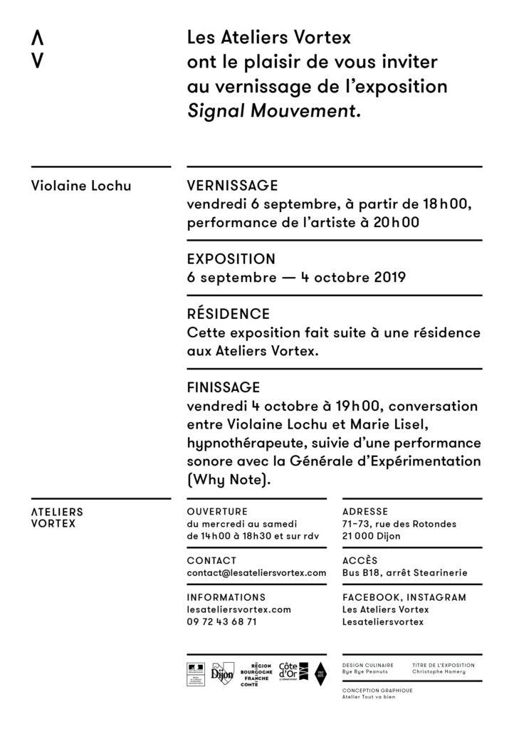 VIOLAINE LOCHU SIGNAL MOUVEMENT ATELIERS VORTEX